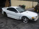1997 Ford Mustang 4.6L DOHC T-45 - White - Image 2