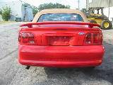 1997 Ford Mustang 4.6L SOHC T-45 - Red - Image 3