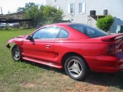 1997 Ford Mustang V-6 Custom 5-Speed - Red & Black