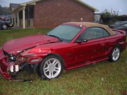 1997 Ford Mustang 4.6 Automatic - Red - Image 1