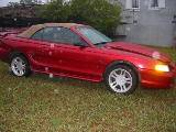 1997 Ford Mustang 4.6 Automatic - Red - Image 2