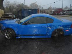 2003 Ford Mustang 4V Cobra Mach 1 Automatic, Blue - Image 1