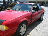 1992 Ford Mustang 5.0 AOD - Red - Image 2
