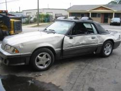 Parts Cars - 1992 Ford Mustang 5.0 AOD Automatic - Silver & Black