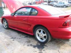 1997 Ford Mustang 4.6 4V T-45 - Red - Image 1