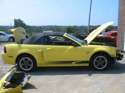 2003 Ford Mustang 4.6 L V8 Automatic- Yellow