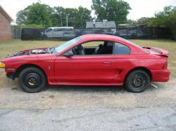 1997 Ford Mustang COBRA 4.6 4V T-45 Five Speed - Red