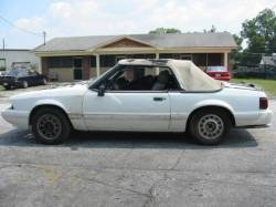 1992 Ford Mustang 5.0 HO AOD Automatic - White - Image 1