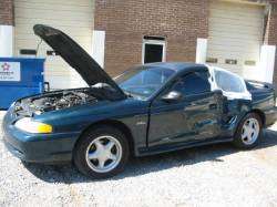 1997 Ford Mustang 4.6 AOD-E Automatic - Green