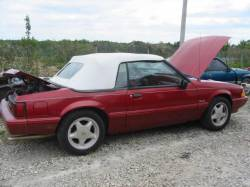 1992 Ford Mustang 5.0 HO AOD Automatic - Burgundy - Image 1