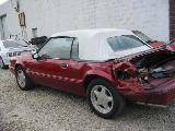 1992 Ford Mustang 5.0 HO AOD Automatic - Burgundy - Image 2