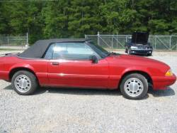 Parts Cars - 1992 Ford Mustang 5.0 Auto AOD-E - Red