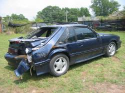 Parts Cars - 1993 Ford Mustang 5.0 HO T5 - Blue