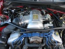 1998 Ford Mustang 4.6L DOHC T-45 - Red