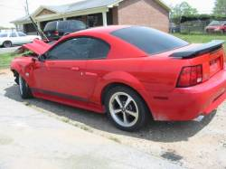 2004 Ford Mustang 4.6 4V AOD-E Automatic- Red