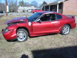 Parts Cars - 1998 Ford Mustang 4.6 L 5-Speed T-45 - Red