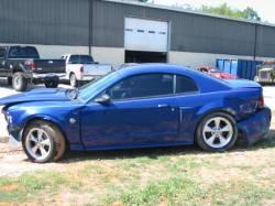 Parts Cars - 2004 Sonic Blue GT