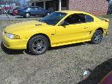 1998 Ford Mustang 4.6 T-45 - Yellow