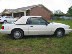 Parts Cars - 1993 Ford Mustang 2.3 Automatic - White