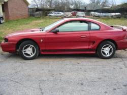 1998 Ford Mustang 3.8 T-5 - Red