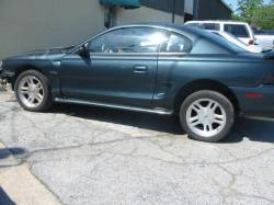 1998 Ford Mustang 4.6 AOD-E Automatic - Dark Green