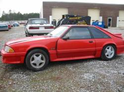 Parts Cars - 1993 Ford Mustang 5.0 HO T-5 Five Speed - Red