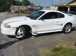 1998 Ford Mustang 4.6 T-45 Five Speed - White