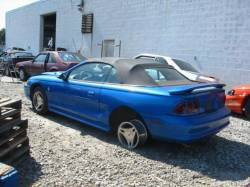 Parts Cars - 1998 Ford Mustang 5.0 AOD - Blue
