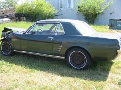1964-1973 - Parts Cars - 1966 Ford Mustang 289 4V C-4 - Green