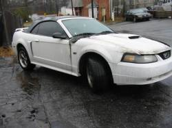 1999-2004 - Parts Cars - 2003 Ford Mustang 4.6 3650 - White