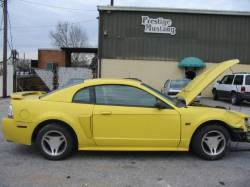 Parts Cars - 2002 Ford Mustang 4.6 2V 5-Speed T-3650 - Yellow