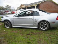 Parts Cars - 2000 Ford Mustang 4.6 2V 5-Speed - Silver