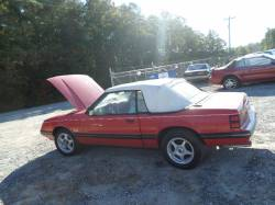 Parts Cars - 1984 Ford Mustang Convertible LOW MILEAGE