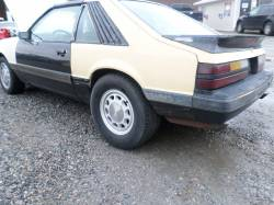 Parts Cars - 1986 Ford Mustang 5.0 T5
