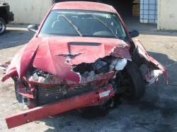 Parts Cars - 99-04 Ford Mustang Coupe 3.8 Automatic - Red