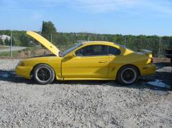 Parts Cars - 94-98 Ford Mustang Coupe 4.6 Manual - Yellow