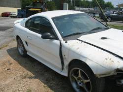 Parts Cars - 94-98 Ford Mustang Coupe 4.6 Manual - White