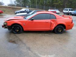 Parts Cars - 99-04 Ford Mustang Coupe 4.6 Automatic - Orange