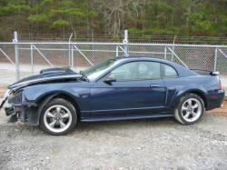 Parts Cars - 99-04 Ford Mustang Coupe 4.6 Automatic - Blue