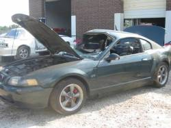 Parts Cars - 99-04 Ford Mustang Bullitt 4.6 Manual - Green