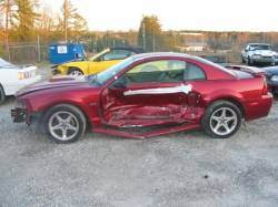 Parts Cars - 99-04 Ford Mustang Coupe 4.6 Automatic - Red