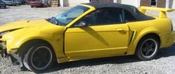 Parts Cars - 99-04 Ford Mustang Convertible 4.6 Automatic - Yellow