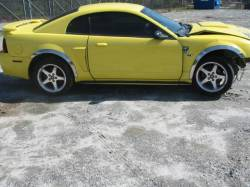 Parts Cars - 99-04 Ford Mustang Coupe 4.6 Automatic - Yellow