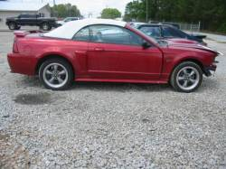 Parts Cars - 99-04 Ford Mustang Convertible 4.6 Automatic - Red