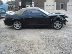 Parts Cars - 99-04 Ford Mustang Convertible 4.6 Automatic - Black