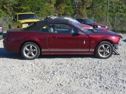 Parts Cars - 99-04 Ford Mustang Convertible 4.6 Manual - Red
