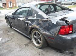 2002 Ford Mustang Coupe 4.6 Manual - Gray