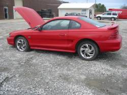 Parts Cars - 94-98 Ford Mustang Coupe 5 Automatic - Red
