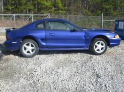 Parts Cars - 94-98 Ford Mustang Coupe 5 Manual - Blue