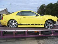 Parts Cars - 99-04 Ford Mustang Coupe  Manual - Yellow